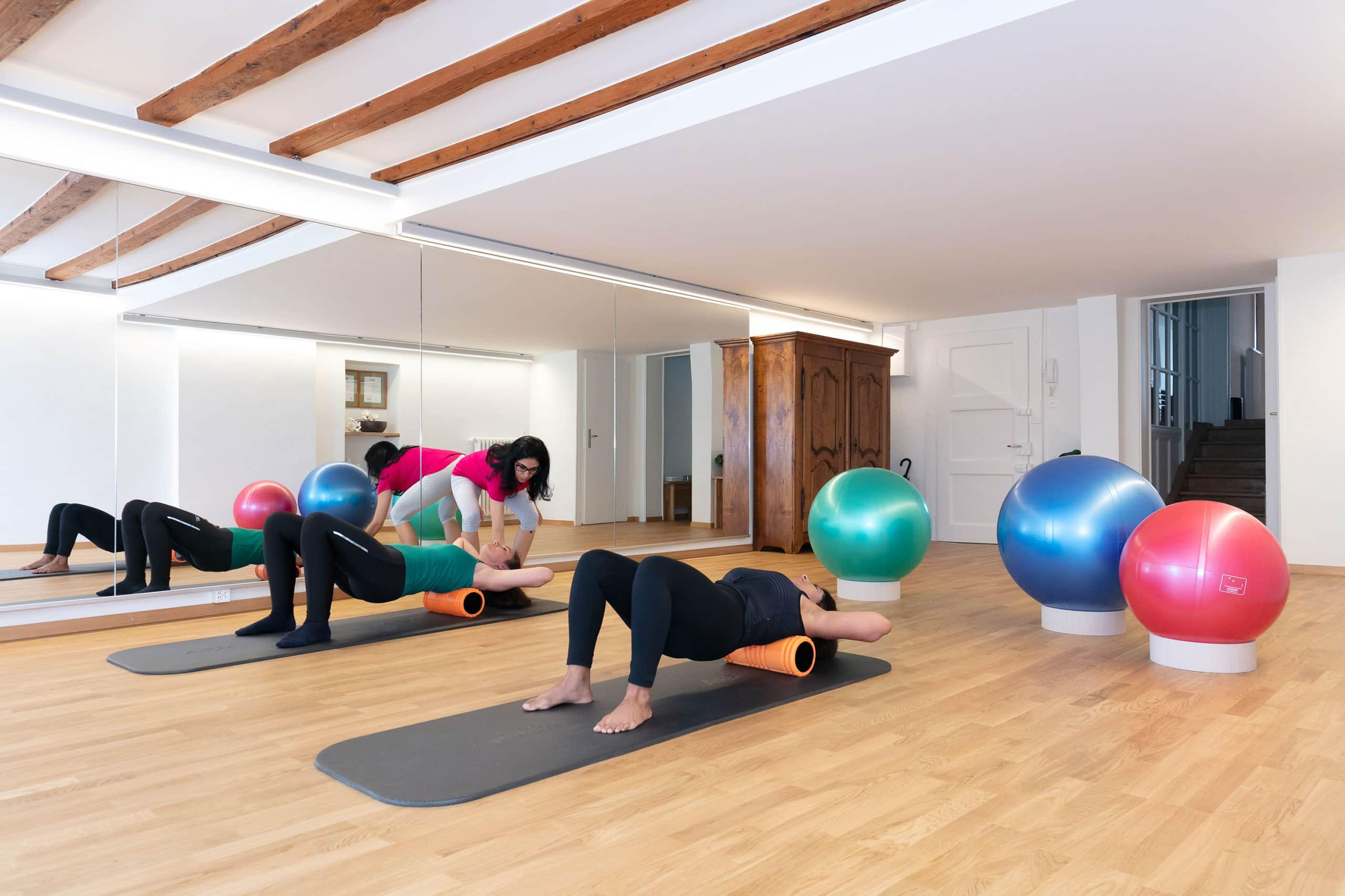 Back neck & abdominals - Training